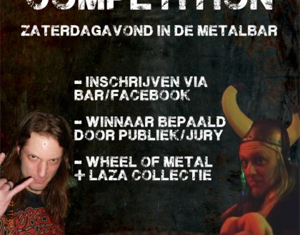 Metal DJ competition