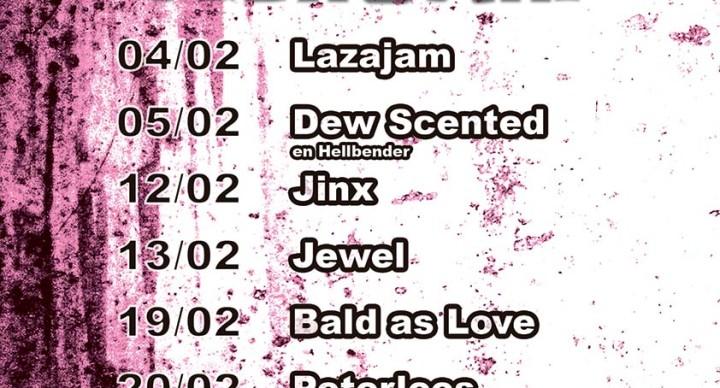 20160200 Rockcafe Lazarus agenda februari