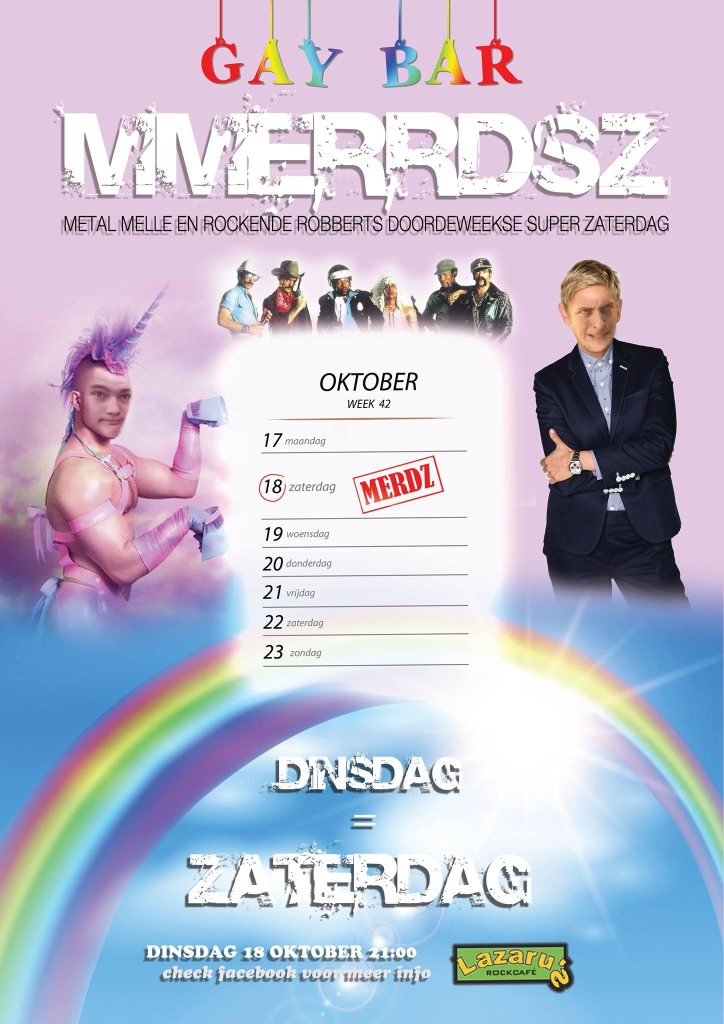 Lazaru's GayPrideMerdsz - Merdsz - 18-10-2016