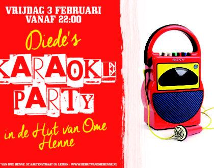 Diede's Karaoke Party