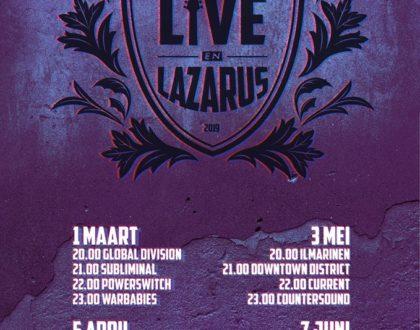 Live en Lazarus 2019 Finale